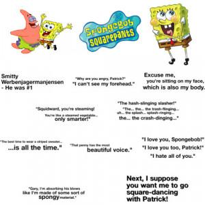 SpongeBob Quotes - Polyvore