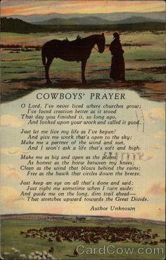 cowboys prayer more memories tablet postcards cowboys prayer cowboys ...