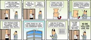Dilbert It Support