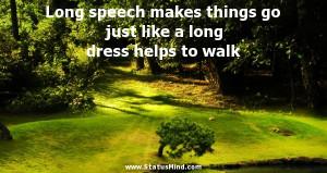 walk - Charles Maurice de Talleyrand-Perigord Quotes - StatusMind.com ...