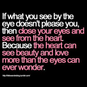 close your eyes, eyes, heart, love, pink love quote, please you ...