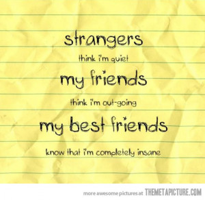 Funny photos funny best friends insane quote
