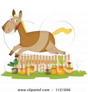 Home Vector Cartoon Horse Pegasus Cute Flowers