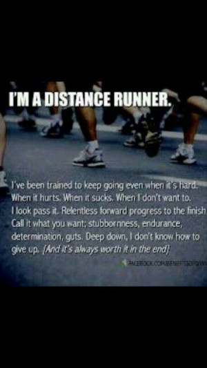 Distance Runners..