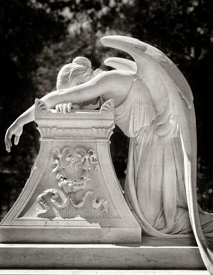 Leland Stanford, Stanford Angel, Angel Sculpture, Cemetery Angel, Art ...