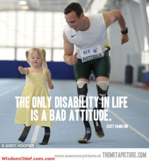 Anything Is Possible With The Right Attitude Awesome Ad Picture