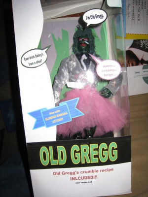 Old Gregg! I have to get this for my brother!