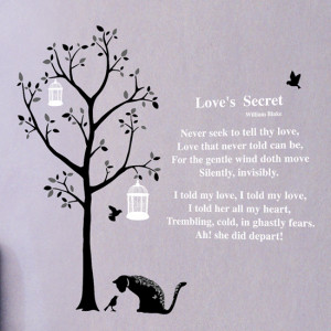 Tree, Cat and William Blake Quote DS-08220