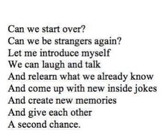 starting over again quotes