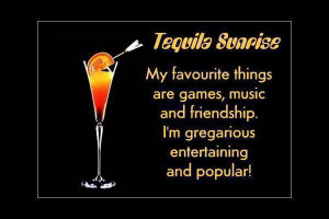 Tequila sunrise (cocktail) - Image of Tequila Sunrise (cocktail)