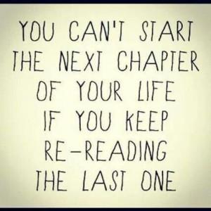 Start a new chapter