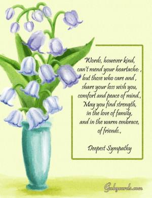 quotes condolences carlalily gif sympathy sayings condolence quotes 4 ...
