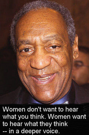 Bill Cosby on What Women Want