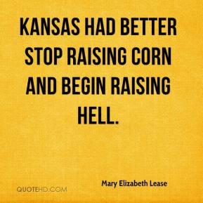 More Mary Elizabeth Lease Quotes