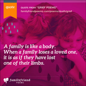 Short Poems About Death And Grief