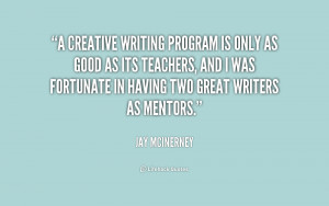 Creative writing positions