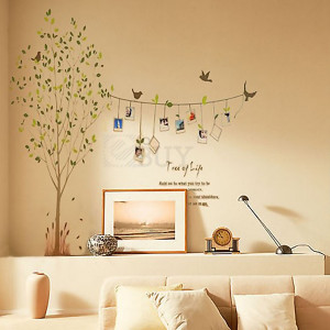 Details about Hot Tree Quote Photo Frame Removable Decal Wall Decor ...