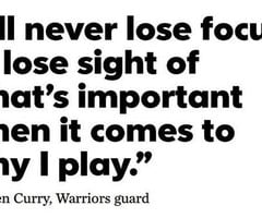 Stephen Curry Basketball Quotes