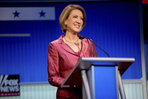 Carly Fiorina, former Hewlett-Packard CEO