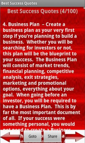 Business Success Quotes...