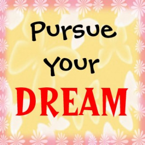 Dream-3 Word Quote Motivational Magnet magnet