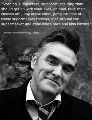 Morrissey quote
