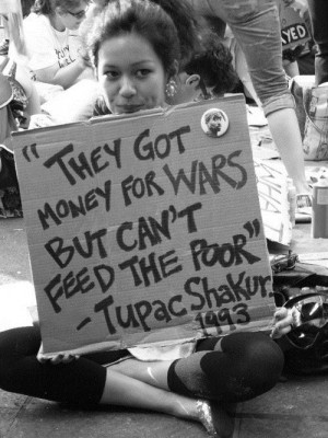 Rapper quotes and tupac shakur sayings war rich poor