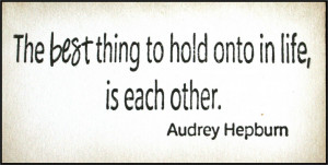 February Quotes Used the quote by audrey