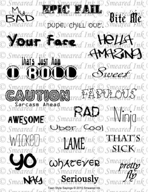 Cool Quotes And Sayings For Teens