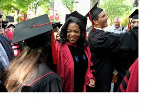 ... Winfrey, Michael Bloomberg, Katie Couric, and other famous speakers
