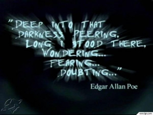 Edgar allan poe dark love quotes