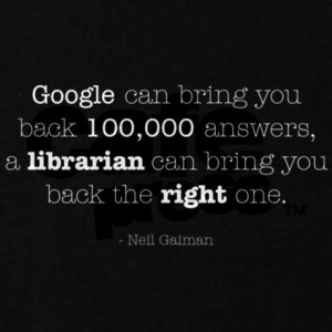 Neil Gaiman Library Quotes