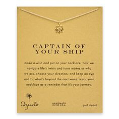 captain of your ship $54 - I absolutely LOVE the message behind this ...