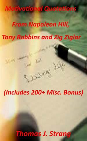 Motivational Quotations From Napoleon Hill Tony Robbins and Zig Ziglar ...