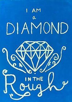 am a diamond in the rough #ADPi #diamonds More