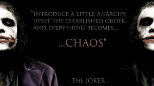 Back > Quotes For > Famous Joker Quotes Dark Knight