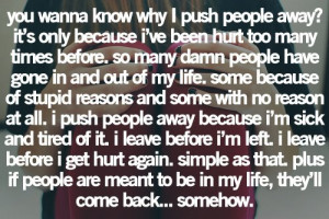 | Life Quotes. That's so sad. I've been abandoned by my mother ...