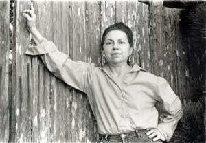 Gloria Anzaldúa, scholar of Chicano cultural theory, feminist theory ...