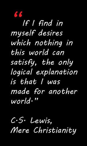 Lewis Quote