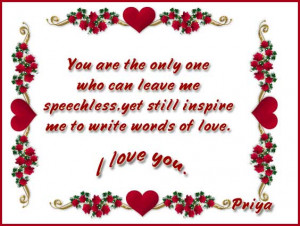 Another method is to use cute love quotes in your Valentine's Day ...