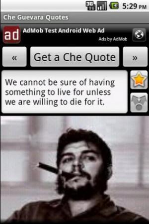 View bigger - Che Guevara Quotes for Android screenshot