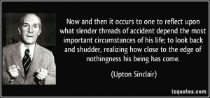 More Upton Sinclair Quotes
