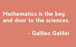 Math Quotes Galileo   Quotable maths: Galileo
