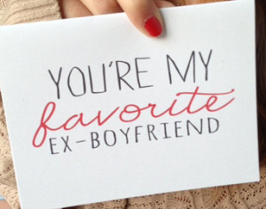 Break-up Card