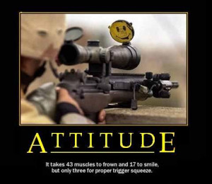 don t own any assault weapons all mine are counter assault