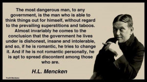 Mencken quote on politics