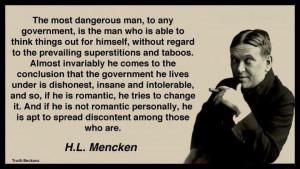 Mencken quote on politics