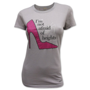 Sex and the City Not Afraid of Heights T-shirt
