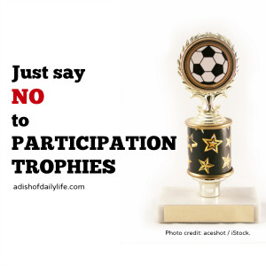 Participation Trophy Funny