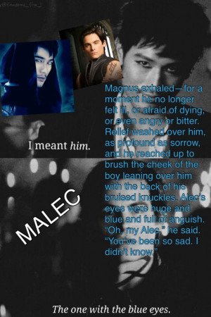 Malec cohf quotes: Malec Cohf, Shadowhunt Chronicles, Cohf Quotes, Tmi ...
